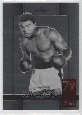 2011 Leaf Metal Muhammad Ali 70th Birthday Redemption Double Embossed #62 - [Missing]