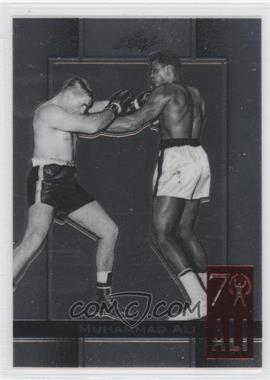 2011 Leaf Metal Muhammad Ali 70th Birthday Redemption Double Embossed #82 - [Missing]