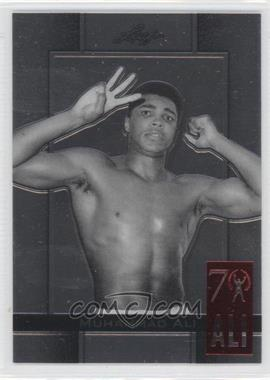 2011 Leaf Metal Muhammad Ali 70th Birthday Redemption Double Embossed #85 - [Missing]