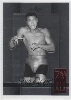 2011 Leaf Metal Muhammad Ali 70th Birthday Redemption Double Embossed #89 - [Missing]