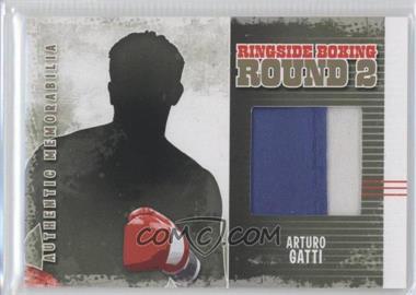2011 Ringside Boxing Round 2 - Authentic Memorabilia - Gold #AM-55 - Arturo Gatti
