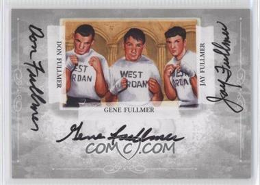 2011 Ringside Boxing Round 2 Mecca Boxing Champions Autographs Silver #A-DGJF - Don Fullmer, Gene Fullmer, Jay Fullmer