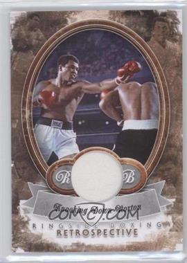 2011 Ringside Boxing Round 2 Retrospective Memorabilia [Memorabilia] #R-16 - Muhammad Ali /10