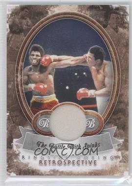 2011 Ringside Boxing Round 2 Retrospective Memorabilia [Memorabilia] #R-23 - Muhammad Ali /10