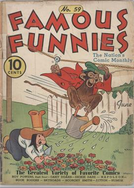 1934 - 1955 Eastern Color Printing Co. Famous Funnies #59 - Famous Funnies