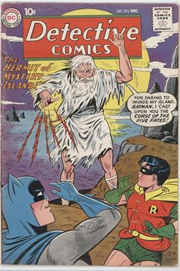 1937-2011 DC Comics Detective Comics Vol. 1 #274 - The Hermit of Mystery Island