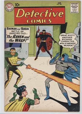 1937-2011 DC Comics Detective Comics Vol. 1 #287 - The Raven and the Wasp
