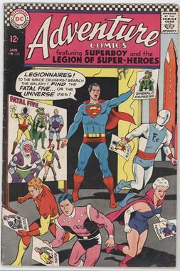 1938-1983, 2010-2011 DC Comics Adventure Comics Vol. 1 #352 - The Fatal Five!
