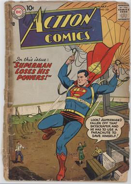 1938-2011 DC Comics Action Comics Vol. 1 #230 - Superman Loses His Powers!