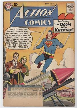 1938-2011 DC Comics Action Comics Vol. 1 #246 - Krypton On Earth