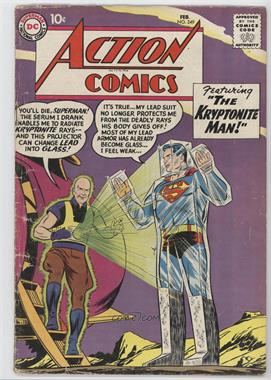 1938-2011 DC Comics Action Comics Vol. 1 #249 - The Kryptonite Man