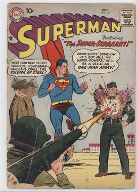 1939-1986, 2006-2011 DC Comics Superman Vol. 1 #122 - The Super Sergeant