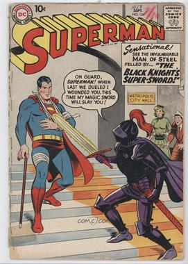 1939-1986, 2006-2011 DC Comics Superman Vol. 1 #124 - The Black Knight's Super-Sword [Good/Fair/Poor]