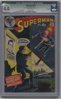 Killer Kent vs. Super Luthor! [CGC4.0]