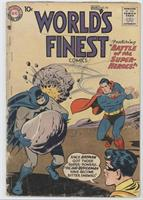 Battle of the Super-Heroes! [Good/Fair/Poor]