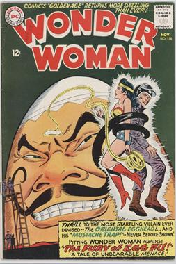 1942 - 1986; 2010 - 2011 DC Comics Wonder Woman #158 - The Fury Of Egg Fu! [Readable (GD‑FN)]