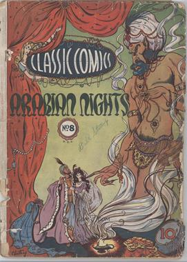 1943 -1946 Gilberton Publications Classic Comics #08 - Arabian Nights #1 - Arabian Nights [Good/Fair/Poor]