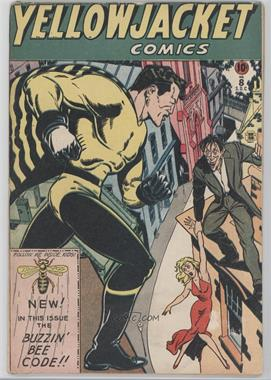 1944-1946 Charlton Comics Yellowjacket Comics #8 - No. 8 [Readable (GD‑FN)]