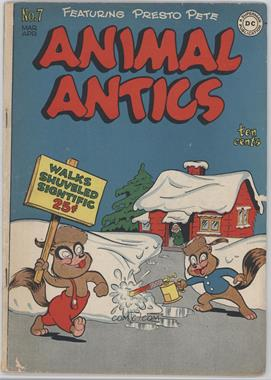 1946-1949 DC Comics Animal Antics #7 - Issue #7