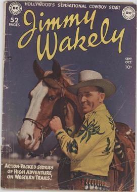 1949 - 1952 DC Comics Jimmy Wakely #1 - Jimmy Wakely