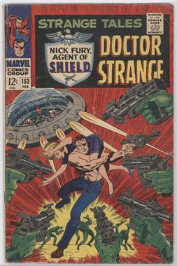 1951-1968, 1973-1976 Marvel Strange Tales #153 - The Hiding Place! [Good/Fair/Poor]