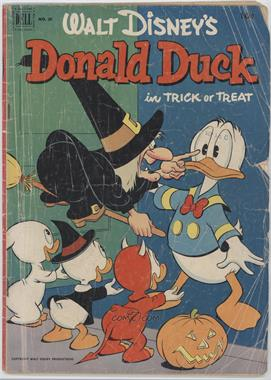 1952 - 1962 Dell Donald Duck #26 - Trick or Treat [Good/Fair/Poor]