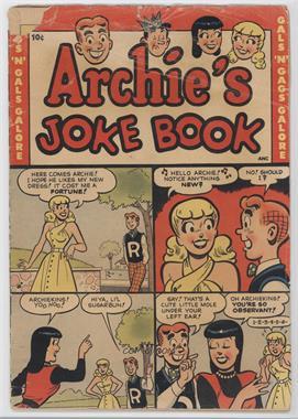 1953-1982 Archie Archie's Joke Book Magazine #1 - -