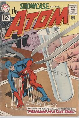 "1956 - 1978 DC Comics Showcase #36 - Prisoner in a Test Tube! / The ""Disappearing Act"" Robberies!"