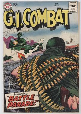 1957 - 1987 DC Comics G.I. Combat 1 #65 - Battle Parade [Readable (GD‑FN)]