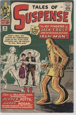 1959-1968 Marvel Tales of Suspense #45 - The Icy Fingers of Jack Frost! [Readable (GD‑FN)]