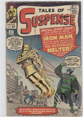 1959-1968 Marvel Tales of Suspense #47 - Iron Man Battles The Mysterious Melter!