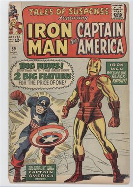 1959-1968 Marvel Tales of Suspense #59 - The Black Knight; Captain America [Good/Fair/Poor]