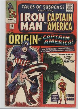 1959-1968 Marvel Tales of Suspense #63 - Somewhere Lurks The Phantom!; The Origin of Captain America!