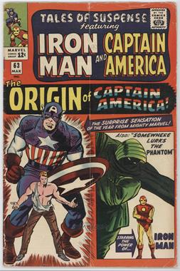 1959-1968 Marvel Tales of Suspense #63 - Somewhere Lurks The Phantom!; The Origin of Captain America!