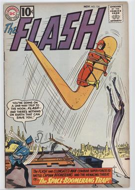 1959 - 1985 DC Comics The Flash #124 - The Space-Boomerang Trap! [Readable (GD‑FN)]