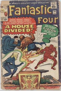 1961-1996, 2003-2012 Marvel Fantastic Four Vol. 1 #34 - A House Divided