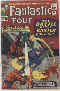 1961-1996, 2003-2012 Marvel Fantastic Four Vol. 1 #40 - The Battle of the Baxter Building!