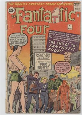 "1961-1996, 2003-2012 Marvel Fantastic Four Vol. 1 #9 - ""The End of the Fantastic Four!"""
