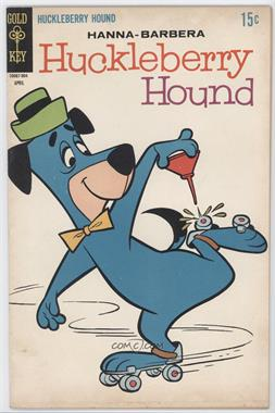 1962 - 1970 Gold Key Huckleberry Hound #37 - Huckleberry Hound