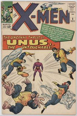 1963-1981 Marvel The X-Men Vol. 1 #8 - Unus the Untouchable!