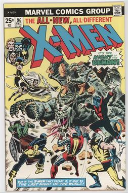 1963-1981 Marvel The X-Men Vol. 1 #96 - Night of the Demon!