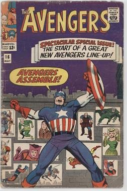 1963-1996, 2004 Marvel The Avengers Vol. 1 #16 - The Old Order Changeth [Good/Fair/Poor]
