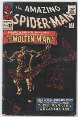 1963-1998, 2003-2013 Marvel The Amazing Spider-Man Vol. 1 #28 - The Menace of the Molten Man [Good/Fair/Poor]