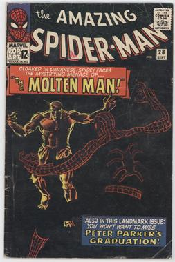 1963-1998, 2003-2013 Marvel The Amazing Spider-Man Vol. 1 #28 - The Menace of the Molten Man [Readable (GD‑FN)]