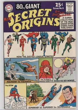 1964 - 1965 DC Comics 80 Page Giant #8 - More Secret Origins by Popular Demand