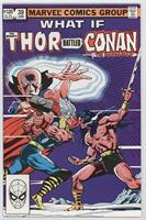 What if Thor Battled Conan the Barbarian