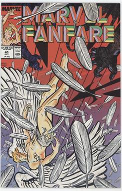 1982 - 1991 Marvel Marvel Fanfare #40 - Chiaroscuro; Deal With The Devil!