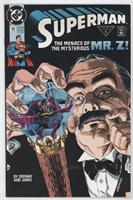 The Menace of the Mysterious Mr.Z!