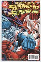 Superman Red vs. Superman Blue