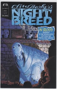 1990 - 1993 Epic Clive Barker's Nightbreed #12 - The Masks of God